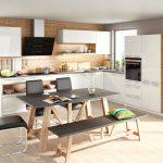 rodrix-küchenstudio-showroom-küche-dan-weiß-L-form-glänzend-kombi-grau